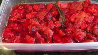 Strawberry Vanilla Preserves