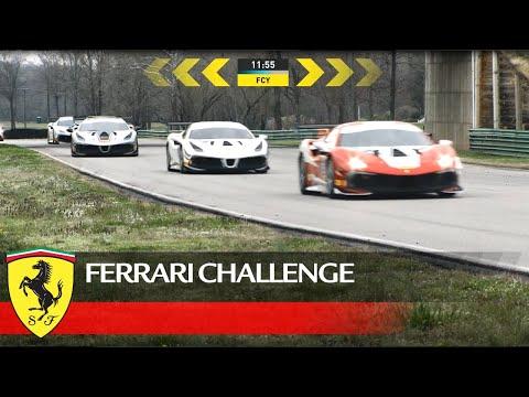 フェラーリチャレンジノースアメリカ レース2動画