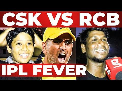 CSK Win பன்னதுக்கு Dress இல்லமா ஓடுனேன் | CSK VS RCB Match | IPL 2019