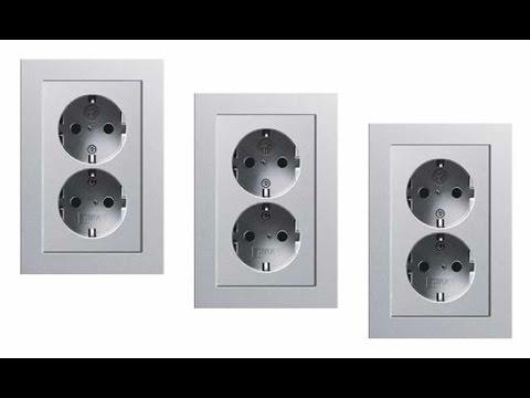 Gira E2 aluminium dubbel stopcontact inbouw