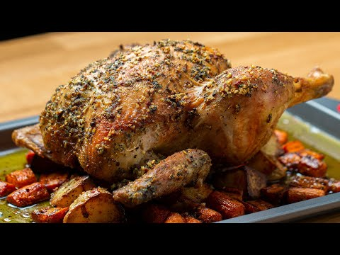 Hearty Whole Roasted Chicken