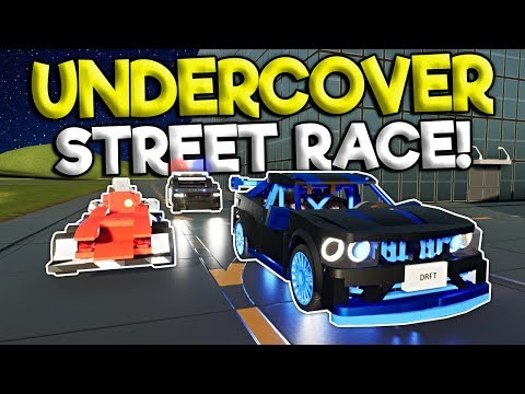UNDERCOVER POLICE BUST LEGO STREET RACE! – Brick Rigs Roleplay Gameplay – Lego Police Chase