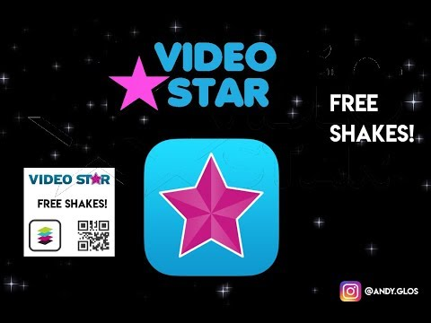 FREE VIDEO STAR QR CODES! (10+ Shakes) PLUS TUTORIAL