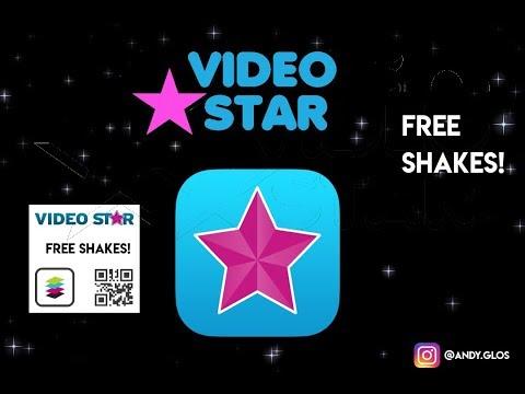 FREE VIDEO STAR QR CODES! (10+ Shakes) PLUS TUTORIAL