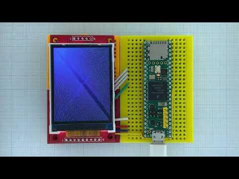 Arduino_GFX Teensy 4.1 ILI9341