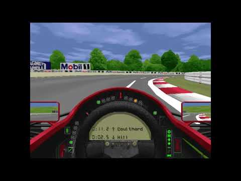 MicroProse Grand Prix 2 By Geoff Crammond Hungarian Grand Prix Round 10 (F1 1994)