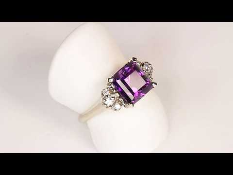 Amethyst Ring Designed by Christopher Michael 2.78 Carat