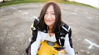 バイク好き女子!リッターSSにまたがるEカップ23才。CBR1000RR
