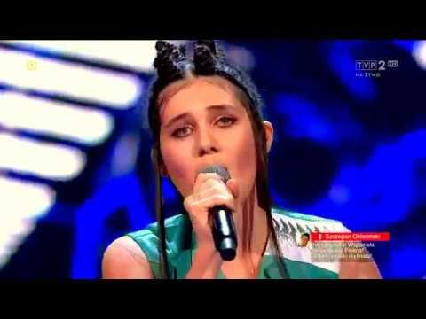 """САБИНА МУСТАЕВА -  The Voice of Poland 2017 - """"полуфинал"""" -  'Euphoria'"""