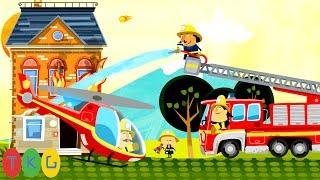 Xe Cứu Hỏa - Fire Truck for Kids | TopKidsGames