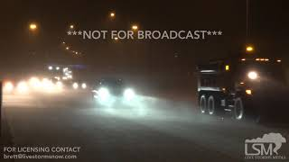 1-21-19  E Denver Co - Blizzard Conditions- Accidents From Winter Storm Indra