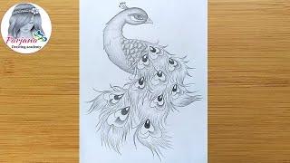 Farjana Drawing Academy - Alone Girl Pencil Sketch || How ...