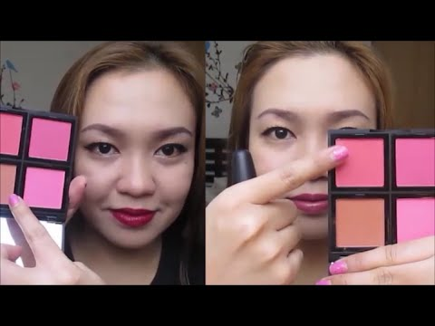 ELF BLUSH PALETTE Review! | TAGALOG