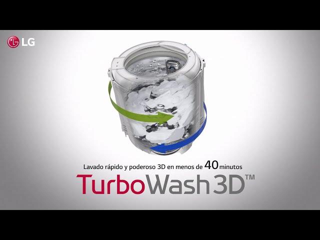 Lavadoras LG TurboWash3D™