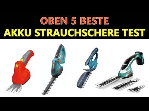 Beste Akku Strauchschere Test 2019