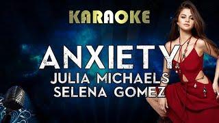 Julia Michaels - Anxiety (Karaoke Instrumental) ft. Selena Gomez
