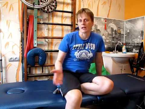 Проблемы с ногой после инсульта. Сгибание в колене / Leg problems after a stroke. Knee flexion