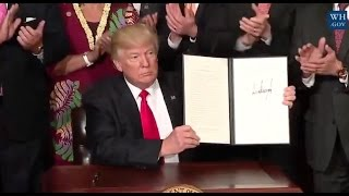 "Trump Signs Order To Prevent Future Federal ""Land Grabs"" - Full Speech"