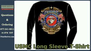 USMC T Shirts, Long Sleeve | Prior Service