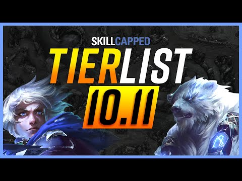 NEW Patch 10.11 TIER LIST - League of Legends Guide