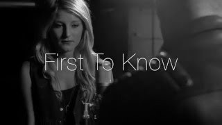 The Rebel Roads- First To Know (Acoustic)