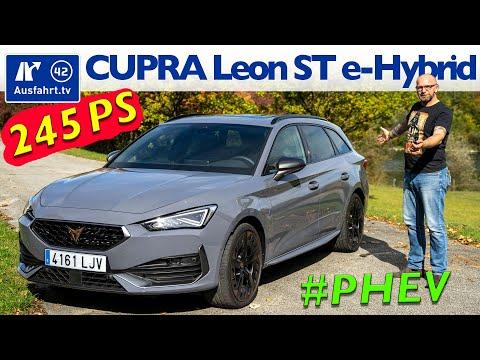 2020 CUPRA Leon Sportstourer E-Hybrid - Kaufberatung, Test deutsch, Review, Fahrbericht Ausfahrt.tv
