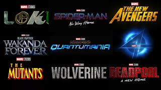 Every Upcoming MARVEL PROJECT Confirmed & Rumored - Release Dates - Marvel Phase 4 & 5