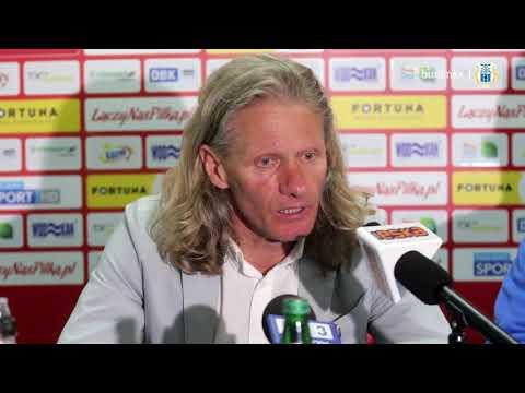 Konferencja prasowa po meczu Stomil Olsztyn - Bruk-Bet Termalica Nieciecza