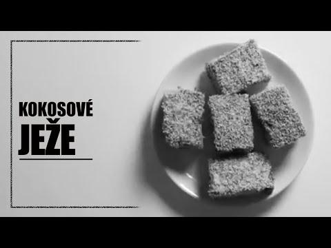 Kokosové ježe - rychlé videorecepty