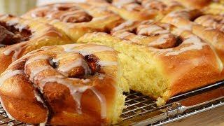Cinnamon Rolls (Buns) Recipe Demonstration - Joyofbaking.com