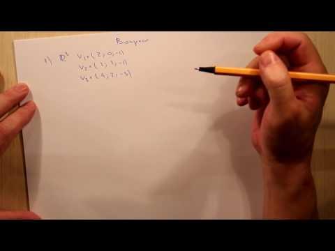Линейная зависимости и линейная независимость. Вопросы