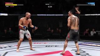 EA Sports UFC 3 Open Beta - Раунд #2 на PS4