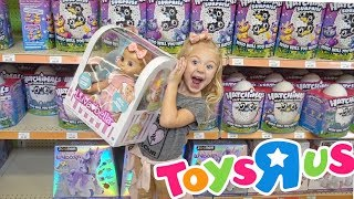 HUGE TOYS R US HAUL!!! (HATCHIMALS, BABY ALIVES, AND SO MUCH MORE)