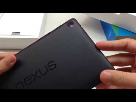 ASUS Google Nexus 7 (2013) 32GB WiFi [Unboxing]