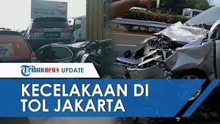 Empat Kendaraan Terlibat Kecelakaan Beruntun di Tol Jakarta-Tangerang, Satu Orang Terluka