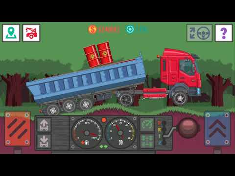 GAME BEST TRACKER LITE TRANSPORTING FUEL ON THE NEW KAMAZ TO THE PORT