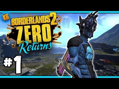 INFINITY PISTOL! - Road to Ultimate Zer0 | Day #1 [Borderlands 2]