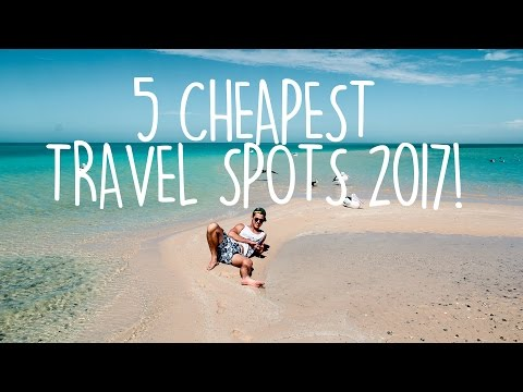 Video CHEAP TRAVEL | Where to travel in 2017 | Budget Travel Tips!