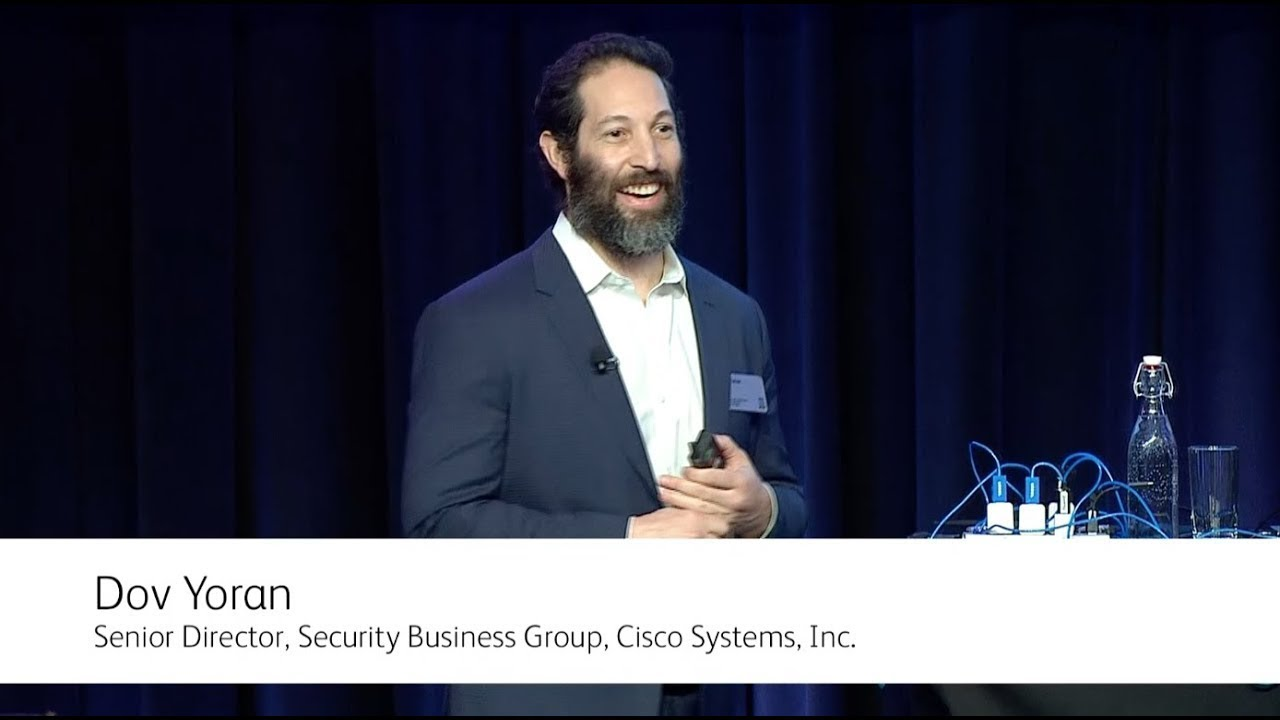 Changing the Security Equation - Dov Yoran from Cisco YouTube Video