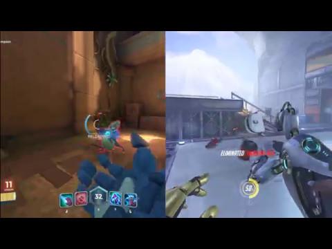 Paladins VS Overwatch_比較