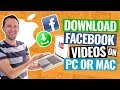 Download Video How to Download Facebook Videos on MAC & PC!