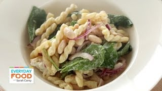 Pasta Salad with Goat Cheese and Arugula – Everyday Food with Sarah Carey