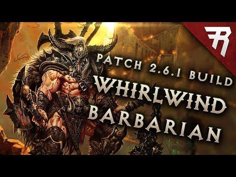 Diablo 3 2.6.1 Barbarian Build: Whirlwind GR 118+ (Guide, Season 12, PTR)