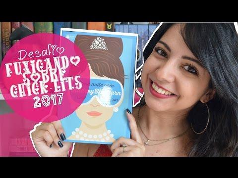 UMA NOITE COM AUDREY HEPBURN | DESAFIO FUXICANDO SOBRE CHICK-LITS 2017 | MINHA VIDA LITERÁRIA