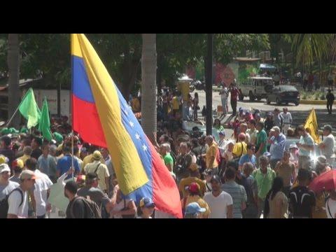 Venezuela marchó para pedir elecciones y en contra de la dictadura