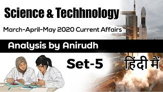 Science and Technology Current Affairs and Space Missions of March April May 2020 by Anirudh #UPSC