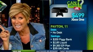 He Wants to Buy an XBox - Can I Afford It? Junior Edition | Suze Orman