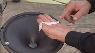 Speaker Cone Repair