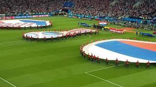 Россия - Хорватия с трибуны на стадионе Фишт Сочи