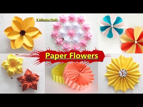 Paper craft ideas for kids videos easy paper craft flower garden paper craft ideas for kids videos mightylinksfo